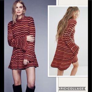 NWT Free People Ziggy Sweater Knit Tunic Dress